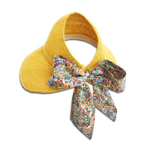 CRG.069 14u Hellenic Fashion Brand Colorful Modern stylish trendy hat paper cotton beautiful Luxury limited Style woman gift exclusive Cotton liberty print bow