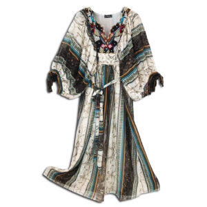 CRG.177B 14u clothes accessories hellenic greek brand colorful boho summer long Oversized beautiful kaftan Ethnic limited edition woman ecxlusive fashion luxury lux luxurius