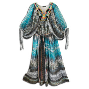 CRG.177L 14u clothes accessories hellenic greek brand colorful boho summer long Oversized beautiful kaftan Ethnic limited edition woman ecxlusive fashion luxury lux luxurius