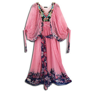 CRG.177O 14u clothes accessories hellenic greek brand colorful boho summer long Oversized beautiful kaftan Ethnic limited edition woman ecxlusive fashion luxury lux luxurius