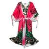 CRG.177P 14u ελληνική εταιρεία ρούχων αξεσουα  Μποέμ Μακρύ Αέρινο Καλοκαιρινό Καφτάνι σε Έντονα Χρώματα ιδιαίτερο πολυτελές μοναδικό προσφορά σε έκπτωση