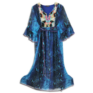 CRG.178D 14u clothes accessories hellenic greek brand colorful boho summer long Oversized beautiful kaftan Ethnic limited edition woman ecxlusive fashion luxury lux luxurius