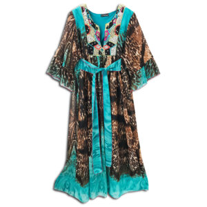 CRG.178H 14u clothes accessories hellenic greek brand colorful boho summer long Oversized beautiful kaftan Ethnic limited edition woman ecxlusive fashion luxury lux luxurius