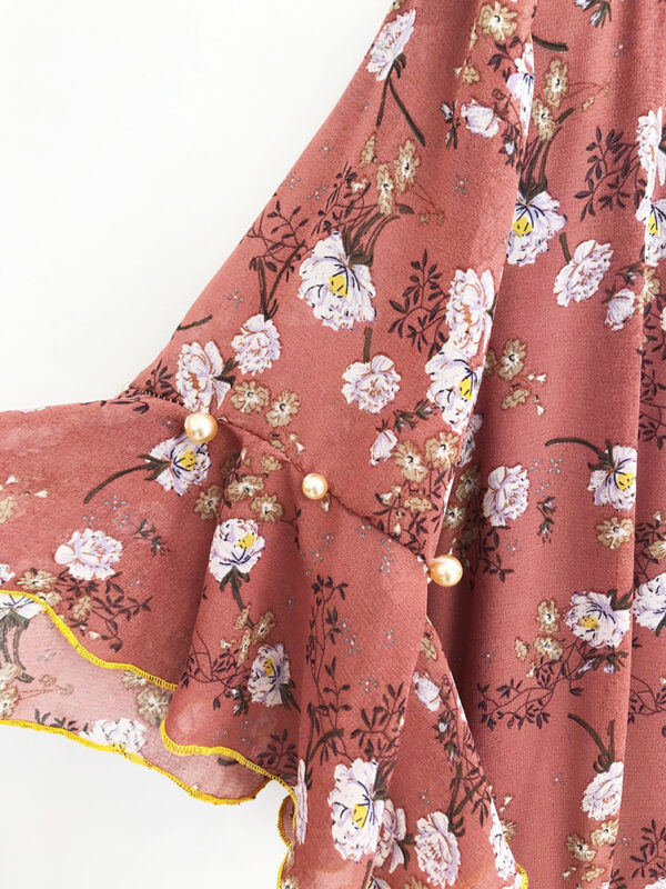 CVD.065 14u ελληνική εταιρεία ρούχων αξεσουαρ φόρεμα fashion ρομαντικό Εμπριμέ Φόρεμα vintage άνοιξη καλοκαίρι θετική ενεργεια style γυναικείο γυναίκα υπέροχο όμορφο όλη μέρα νύχτα καθημερίνο αμπιγιέ designer