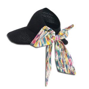 CVD.069B 14u Hellenic Fashion Brand Colorful Modern stylish trendy hat paper cotton beautiful Luxury limited Style woman gift exclusive Cotton liberty print bow