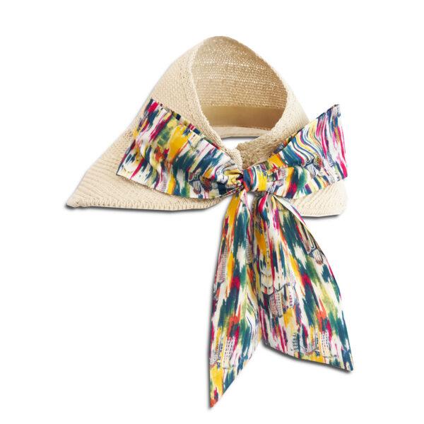 CVD.069c 14u Ελληνική Εταιρεία Ρούχων και αξεσουάρ καθημερινό ποιοτικό ψάθινο ηλιόλουστο αρτ μοναδικό υπέροχο καπέλο