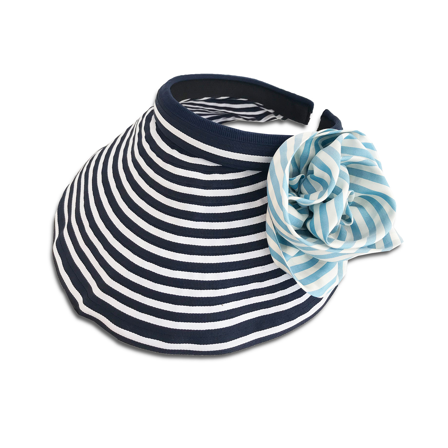 CVD.071 14u Hellenic Fashion Brand Colorful Modern stylish trendy visor hat foldable cotton beautiful Luxury limited Style woman gift exclusive Cotton Removable Flower