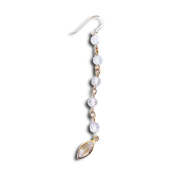 ER002 30 14U Ελληνική Εταιρεία Ρούχων Αξεσουάρ Ένα στο Είδος τους Μοναδικά Συλλεκτικά συλλογή Ρετρό Χειροποίητα Μοντέρνα Κρεμαστά Μακριά  Λαμπερά καθημερινά σκουλαρίκια με ασημένιο σκελετό και αυθεντικά κρύσταλλα swarovski κοσμήματα κόσμημα πολύχρωμα Λουλούδι