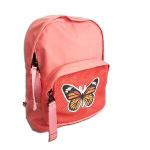 HSL.046 14u ρούχα εξεσουάρ Αδιάβροχη Τσάντα πλάτης από Βινύλιο Εξαιρετικής Ποιότητας ελαφριά με πεταλούδα σε υπέροχα χρώματα