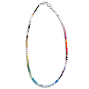 14U Hellenic Greek Fashion Brand womans clothes accessories swarovski colorful necklace limited edition