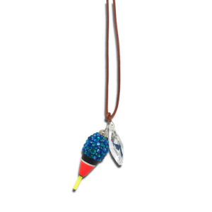 14U Hellenic Greek Fashion Brand womans clothes accessories swarovski cork summer fish necklace limited edition handmade