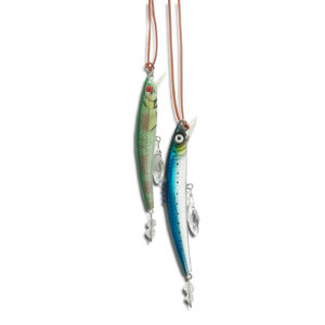 14U Hellenic Greek Fashion Brand womans clothes accessories swarovski summer fish necklace limited edition handmade