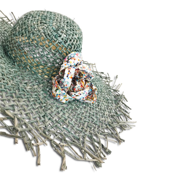 CRG.264 14u Ελληνική Εταιρεία Ρούχων και αξεσουάρ καθημερινό ποιοτικό ψάθινο ηλιόλουστο αρτ μοναδικό υπέροχο καπέλο