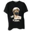 14u ελληνική εταιρεία ρούχων και αξεσουάρ χειροποίητη στάμπα μπλούζα για άντρες και γυναίκες covid19 michelangelo david μάσκα προστασίας Προσώπου