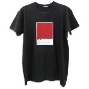 14u helenic greek brand Clothes Accessories Unisex Chrismas t-shirt pantone fucking colors man woman black print glitter shine beautiful red