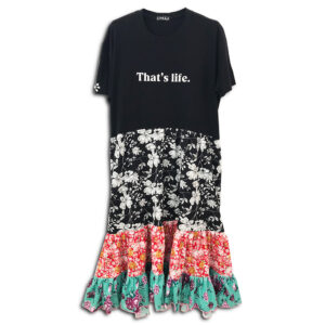 1.4.U Hellenic Greek Fashion Brand Clothes Accessories Handmade Floral Print Dress Flowers 01