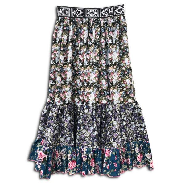 14u ελληνικη εταιρεία ρούχα αξεσουάρ δώρα χειροποίητη εμπριμε λουλουδάτη φλοράλ μοναδική φούστα