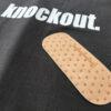 14u ρούχα αξασουάρ unisex άντρας γυναίκα χειροποίητο t-shirt μπλούζα πολυτελές knockout τσιρότα Hansaplast