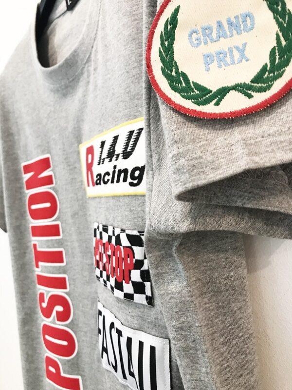 14u ρούχα αξασουάρ unisex άντρας γυναίκα χειροποίητο t-shirt μπλούζα πολυτελές pole positon