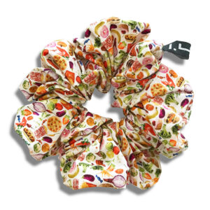 14U Greek fashion Brand Clothes Accessories Gifts handmade scrunchies cotton silk modern seventies (13)