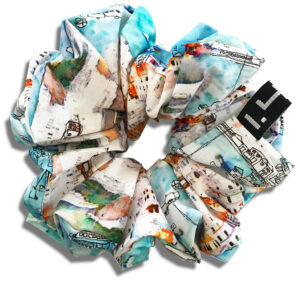 14U Greek fashion Brand Clothes Accessories Gifts handmade scrunchies cotton silk modern seventies (7)