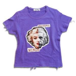 14u-Ρούχα-Αξεσουάρ-unisex-παιδικά-αγόρια-κορίτσια-χειροποίητο-t-shirt-μοναδικό-beautiful minds-Albert-Einstein-Marilyn-Monroe