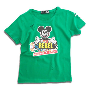 14u-Ρούχα-Αξεσουάρ-unisex-παιδικά-αγόρια-κορίτσια-χειροποίητο-t-shirt-μοναδικό-Mickey-Mouse