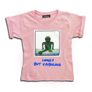 K004-14u-Ρούχα-Αξεσουάρ-unisex-παιδικά-αγόρια-κορίτσια-χειροποίητο-t-shirt-μοναδικό-Λογότυπο-Εκτπύπωση-Στάμπα-kermit-καρτουν-Sesame Street
