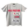 K218 14u-Ρούχα-Αξεσουάρ-unisex-παιδικά-αγόρια-κορίτσια-χειροποίητο-t-shirt-μοναδικό-Λογότυπο-Εκτπύπωση-Στάμπα pole position