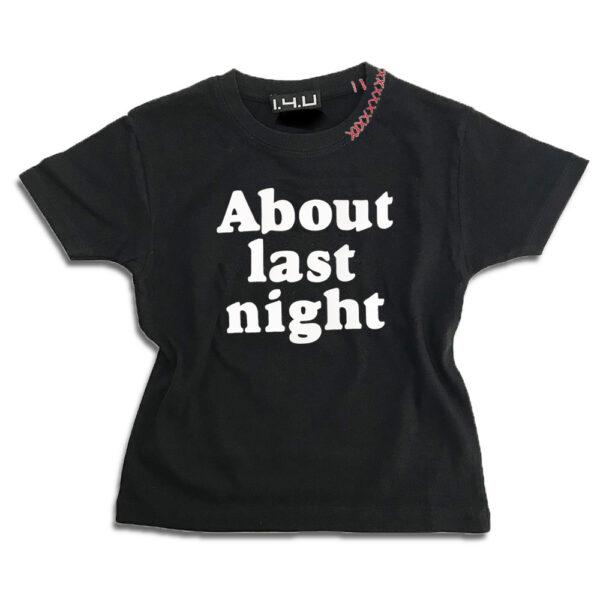 K231 14u-Ρούχα-Αξεσουάρ-unisex-παιδικά-αγόρια-κορίτσια-χειροποίητο-t-shirt-μοναδικό-Λογότυπο-Εκτπύπωση-Στάμπα About Last Night