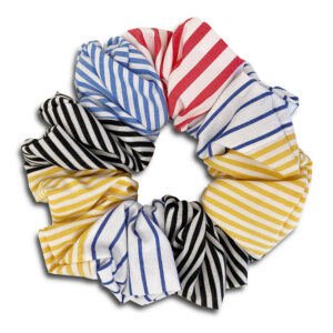 14U-Greek-fashion-Brand-Clothes-Accessories-Gifts-handmade-scrunchies-cotton-silk-modern-seventies-flowers-multicolor-stripe stripes (4)