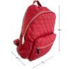 DST.B.7010 14u Ελληνική Εταιρεία Ρούχων Αξεσουάρ Άνετη Νάιλον Εξαιρετικής ποιότητας Unisex μοναδική καπιτονέ αδιάβροχη τσάντα πλατης