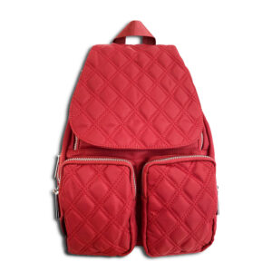 14u Greek Brand Clothes Accessories Comfortable Vinyl Waterproof Quality Unisex Large Sized Nylon Large Quilted Beautiful Backpack