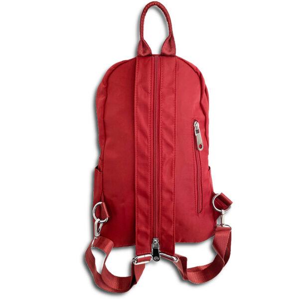 14u Ελληνική Εταιρεία Ρούχων Αξεσουάρ Άνετη Νάιλον Εξαιρετικής ποιότητας minimal αδιάβροχη τσάντα πλατης και ώμου