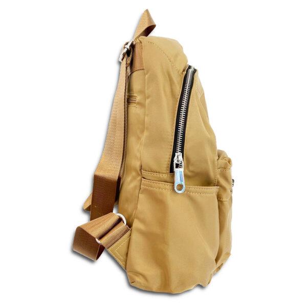 DST.B.1009 14u Ελληνική Εταιρεία Ρούχων Αξεσουάρ Άνετη Νάιλον Εξαιρετικής ποιότητας minimal αδιάβροχη σουρωτή τσάντα πλατης με παιχνιδιάρικο φιόγκο