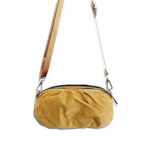 DST.B.1052 14u Ελληνική Εταιρεία Ρούχων Αξεσουάρ Άνετη Νάιλον Εξαιρετικής ποιότητας minimal αδιάβροχο Μοναδικό Σουρωτό Μικρό Τσαντάκι