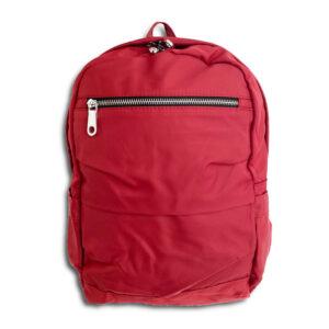 DST.B.1057 14u Greek Brand Clothes Accessories Comfortable Vinyl Waterproof Quality Unisex Minimal Nylon Large Beautiful Gathered Bag Backpack (01)