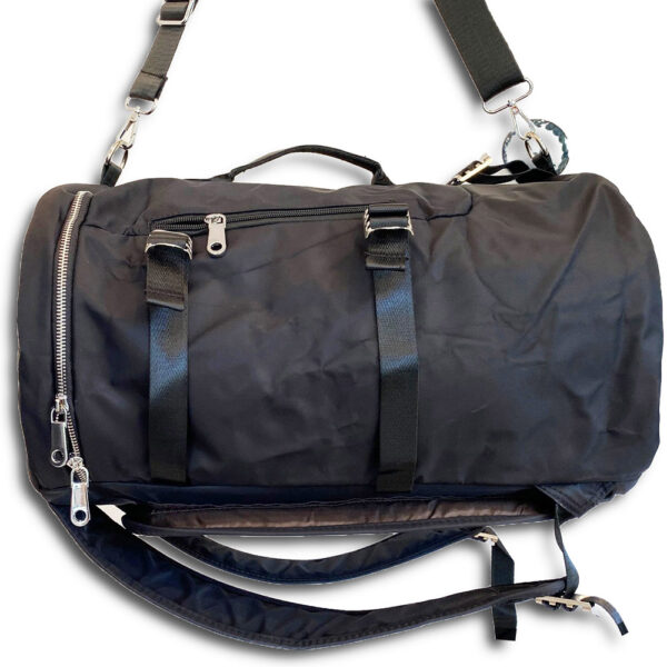 DST.B.1066 14u Greek Brand Clothes Accessories Comfortable Vinyl Waterproof Quality Unisex Large Sized Nylon Large traver Bag 01