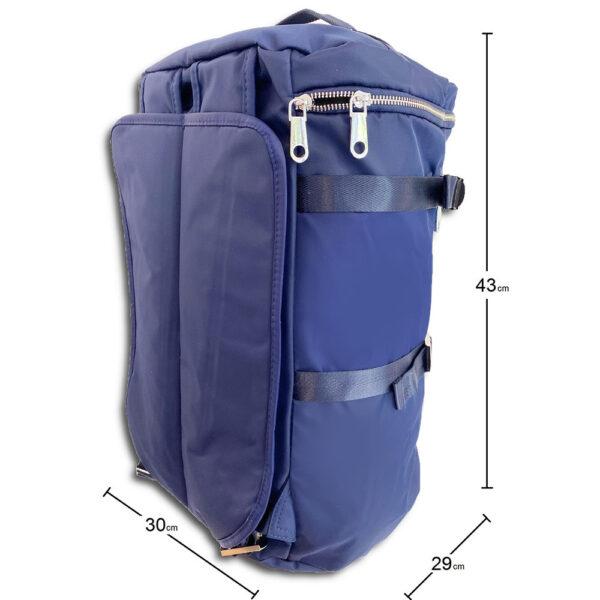DST.B.1066 14u Greek Brand Clothes Accessories Comfortable Vinyl Waterproof Quality Unisex Large Sized Nylon Large traver Bag 03
