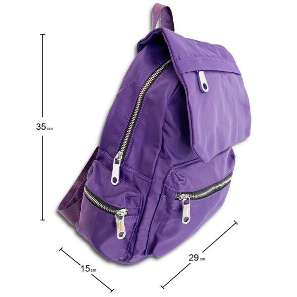 DST.B.1016  14u Ελληνική Εταιρεία Ρούχων Αξεσουάρ Άνετη Νάιλον Εξαιρετικής ποιότητας minimal αδιάβροχη σουρωτή τσάντα πλατης