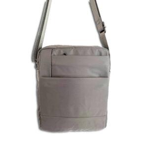 DST.B.7045 14u Ελληνική Εταιρεία Ρούχων Αξεσουάρ Άνετη Νάιλον Εξαιρετικής ποιότητας minimal unisex ποιοτικη αδιάβροχη τσάντα ώμου