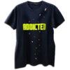 14u ADDICTED ρούχα αξασουάρ unisex άντρας γυναίκα χειροποίητο t-shirt κεντημένο swarovski