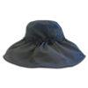 DST.H.01 ALEXIS 1.4.U Ελληνική Εταιρεία Ρούχων και Αξεσουάρ Φαρδύ Βαμβακερό καπέλο με Γκιπούρ Δαντελένια Λουλούδια