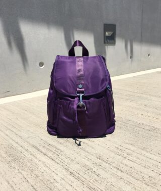 The Escalona Nylon Backpack. New. 🧫  #fashion #bag #nylonbag #backpack #nylonbackpack #new #purple #purplerain #accessories #14Uofficial #ss21 #ss2021 #greekbrand #greekdesigners #madeingreece #greekdesigner #style #minimal #color #cool