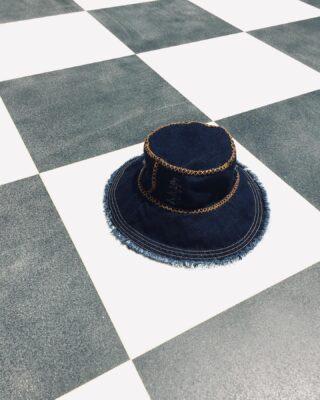 The Saint Tropez Hat. New. 🗺  #greekbrand #greekdesigners #madeingreece #denim #denimisthenewblack #hat #denim #denimhat #buckethat #handmade #handcrafted #ss21 #ss2021 #accessories #fashion #collection #women #musthave