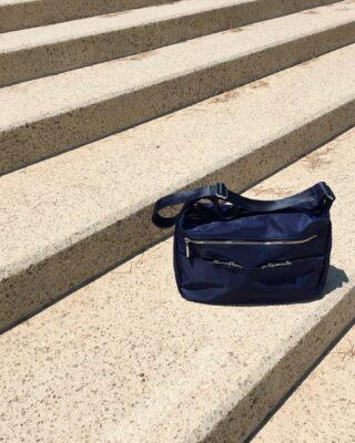 The Bejar Nylon Shoulder Bag. New. 📉  #bag #nylonbag #cool #blue #blueisthenewblack #accessories #nylon #handmade #greekbrand #greekdesigners #madeingreece #new #ss21 #ss2021 #summer #easy #fashion #collection #designers #clothingbrand #14Uofficial