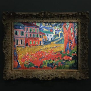Maurice de Vlaminck, Restaurant de la Machine at Bougival, 1905, Oil on canvas. 🍴  #art #painting #museedorsay #orsay #orsaymuseum #paris #14UgoestoParis