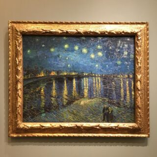 Vincent Van Gogh, Starry Night, 1888, Oil on canvas. ✨  #art #starrynight #vincentvangogh #vangogh #painting #fullmoon