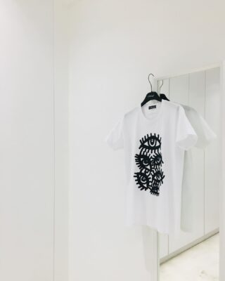 The Eyes T-shirt. Hand embellished with Swarovski crystals. Limited amount available. 👀👀👀