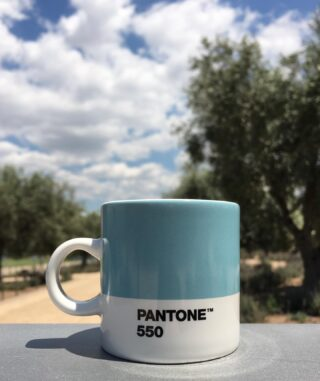 Pantone Espresso Cup. Find it at 1.4.U stores or visit www.14u.gr. 🧊  #pantone #pantonelightblue #lightblue #espresso #espressocup #coffee #coffeelovers #sunday #home #homeessentials #office #design